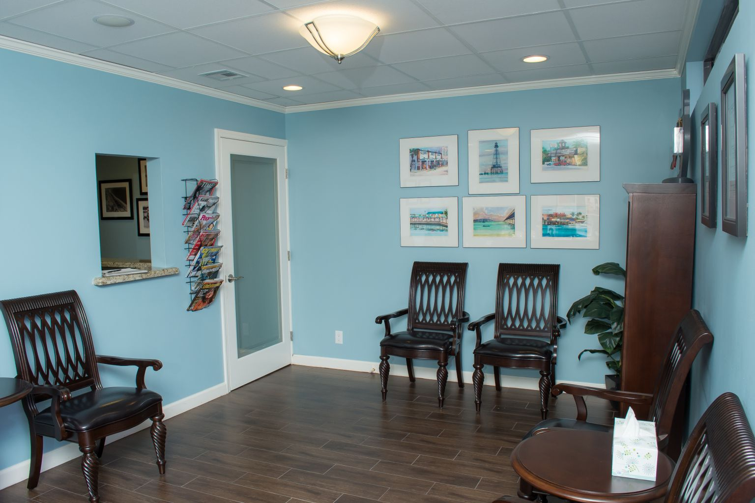 Sands Chiropractic Waiting Room